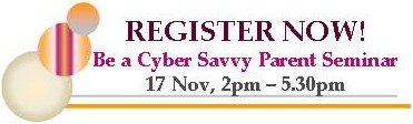 Be a Cyber Savvy Parent