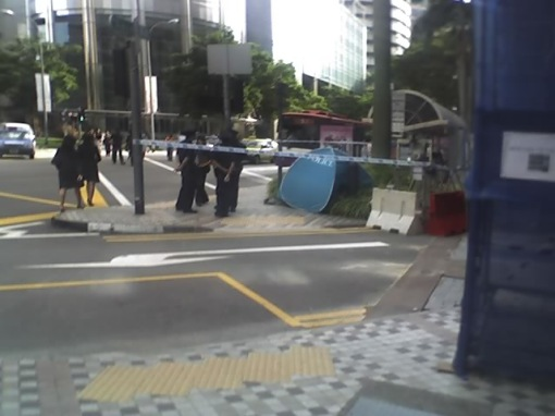 Incident at Intl Plaza