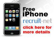 recruit.net iphone contest