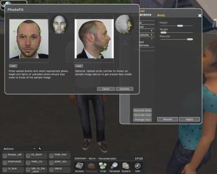 Twinity Face Gen