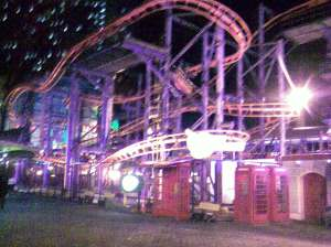 WOW WOW WOW Flying Coaster Genting, Malaysia