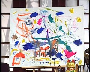 Painting by Jon Nierrman & Hans Mendler